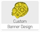 Custom Banner Design - Graphic Design illustration