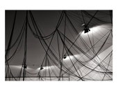 """Black & White Fine Art Modern Photography  - Europe - Lyon Gallery Ceiling - 8""""x10"""" Size (Can also be larger, custom sized)"""