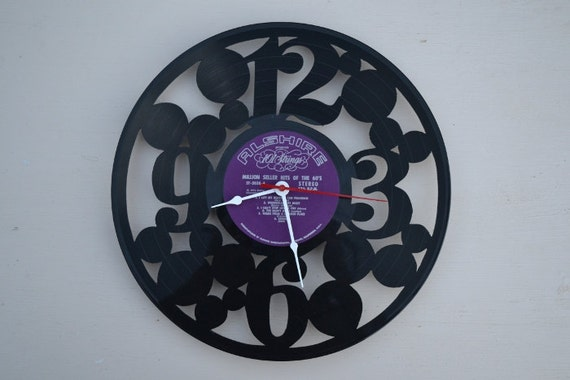 Vinyl Record Album Wall Clock (artist is 101Strings)