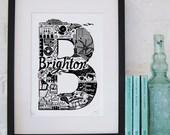 Best of Brighton Screenprint