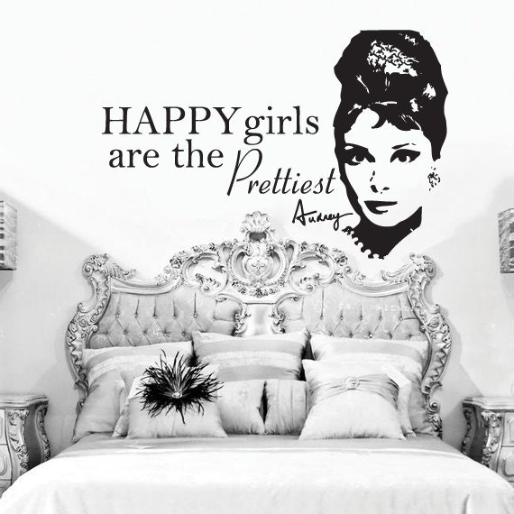 Happy Girls Are The Prettiest Quotes: Stickitthere On Etsy
