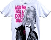 Drinking with the Crypt Keeper Shirt sizes S-M-L-XL