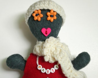 Plush Doll - Patty Winter - OOAK