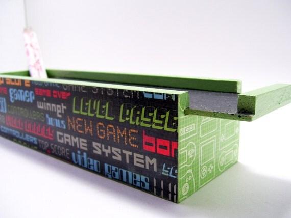 Decoupage Pencil Box Video Game