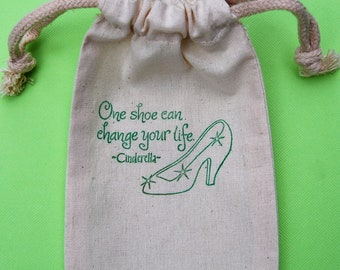 Cinderella Party Favor Bags / Set of 45/ Birthday Party Favors