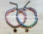 Custom lucky star bracelet