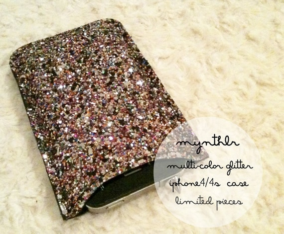 Multicolor glitter sleeve for iphone 4/4s
