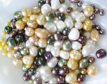 Pearl Bead Assortment Huge Loose Lot