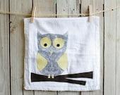 Tea Towel - An Owl Dish Towel