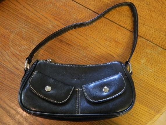 SALE Vintage Black Gucci Purse