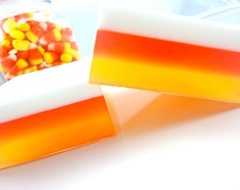 Halloween Soap - Candy Corn Soap - Halloween Favor - Candy Soap - Halloween Gift - Soap for Kids - Halloween Candy Soap