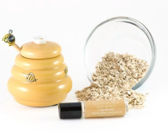 Oatmeal Milk and Honey Perfume Oil - Roll On Perfume - 8mL