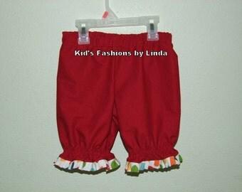 Red Dot Ruffle Pantaloons