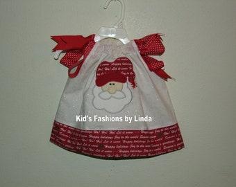 Santa Fairy Frost Pillowcase Dress