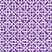 LAMINATED cotton fabric by the yard - Mikaela periwinkle purple yardage (aka oilcloth fabric, tablecloth fabric) Honey Child WIDE BPA free