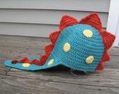 Dinosaur Hat Crochet Pattern