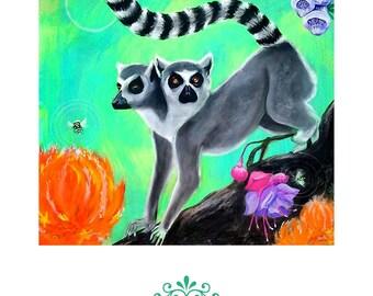 Lemur (print)