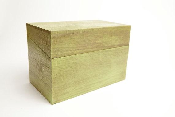 Green Recipe Box