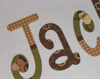 Baby Cocoa - custom - hand painted - wooden wall letters for nursery
