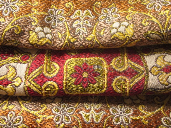 Vintage Cloth or Wall Hanging, Embroidered