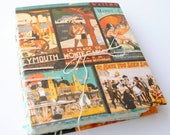 Journal: Vintage Summer Vacations with Recycled Paper