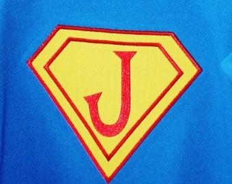 Super Hero Applique - Machine Embroidery Design - 8 Sizes