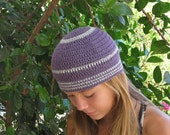 Lavender and Light Gray Skullcap