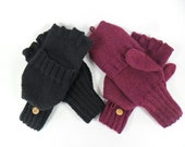 Convertible Mittens (Flip, Smoker's or Reader's Gloves) - Free Shipping
