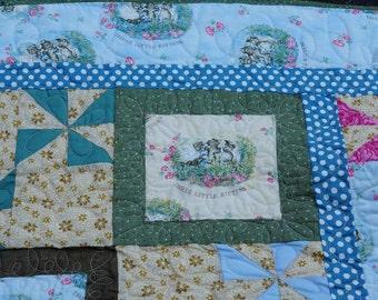 Three Little Kittens quilt