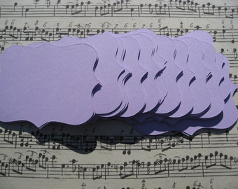 25 Fancy Top Notes. 6x4 inch. CHOOSE YOUR COLORS. Weddings, Favor, Place Cards, Escort, Table.