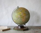 Vintage J. Chein & Co. Tin Globe