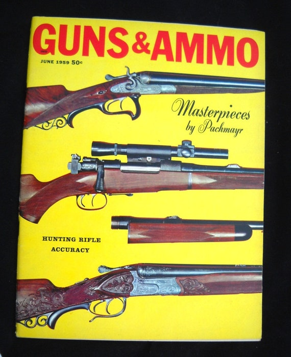Reserved -------- Mid Century Guns & Ammo Magazine June 1959