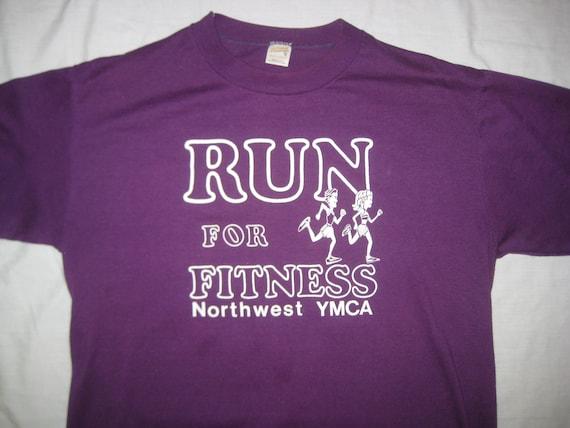 1980's YMCA running t-shirt, XL