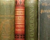 Victorian book On Heroes and Hero Worship by Thomas Carlyle
