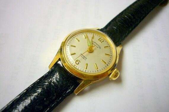 Wristwatch wrist watch Dom Watch Geneve Beautiful Immaculate Condition Swiss womens mechanical wind-up watch