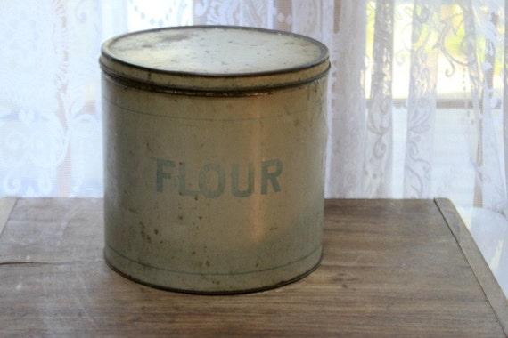 Antique Flour Tin/Reserved