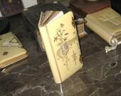 Antique Spanish Celluloid Bible Prayer Book 1921