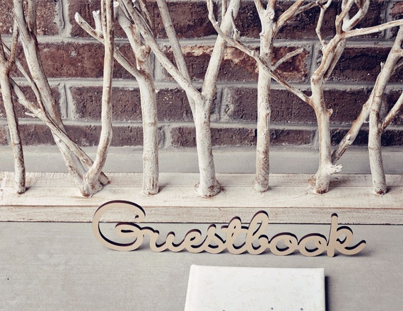 Guestbook Wedding Sign