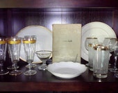Gold Limoges and Crystal Collection by Ella Universe Vintage - ELLAGOLD001