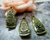 20pcs 8x20mm The Baby Antique Bronze Retro Pendant Charm For Jewelry Necklace Charms Pendants C1148