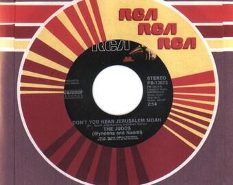 THE JUDDS 45 rpm Don't You Hear Jerusalem Moan b/w Had A Dream