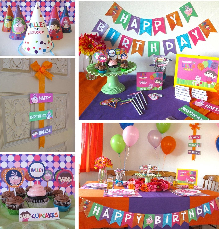 Dora Birthday Party Activities
