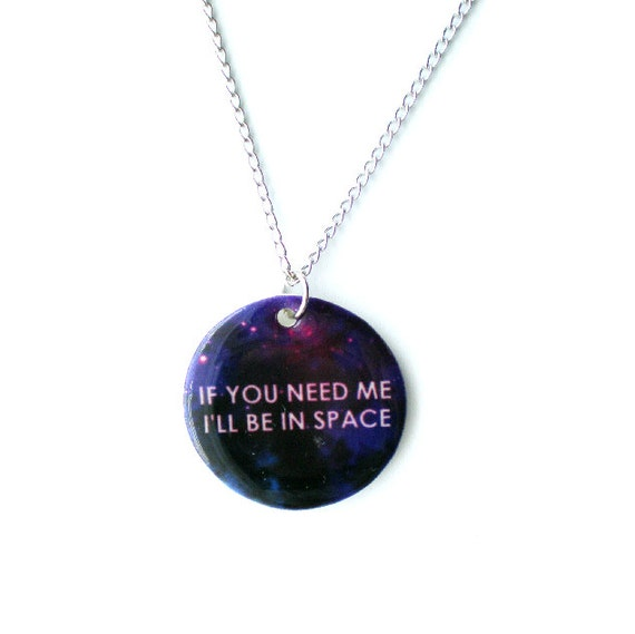 In Space Necklace