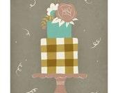 "Let's Eat Cake - 8x10"" Art Print"