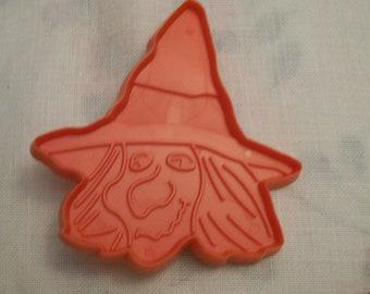 Halloween COOKIE CUTTER Vintage Witch Hallmark