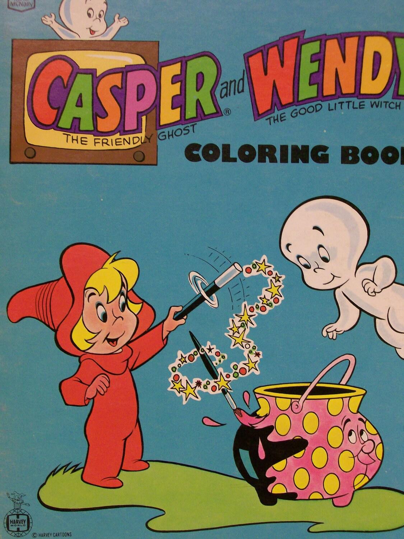 CASPER Coloring Book Casper the