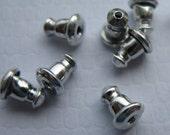 50 Surgical Stainless Steel Mechanical Earring Backs