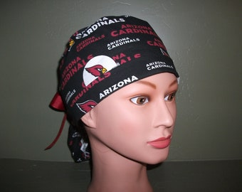 NFL Cardinals ponytail scrub cap