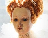 Queen Elizabeth Hand Carved Marionette
