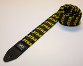 Sci-fi movie handmade guitar strap - This is NOT a licensed product